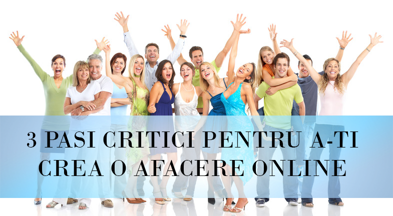 Pași critici pentru a-ți crea afacerea online